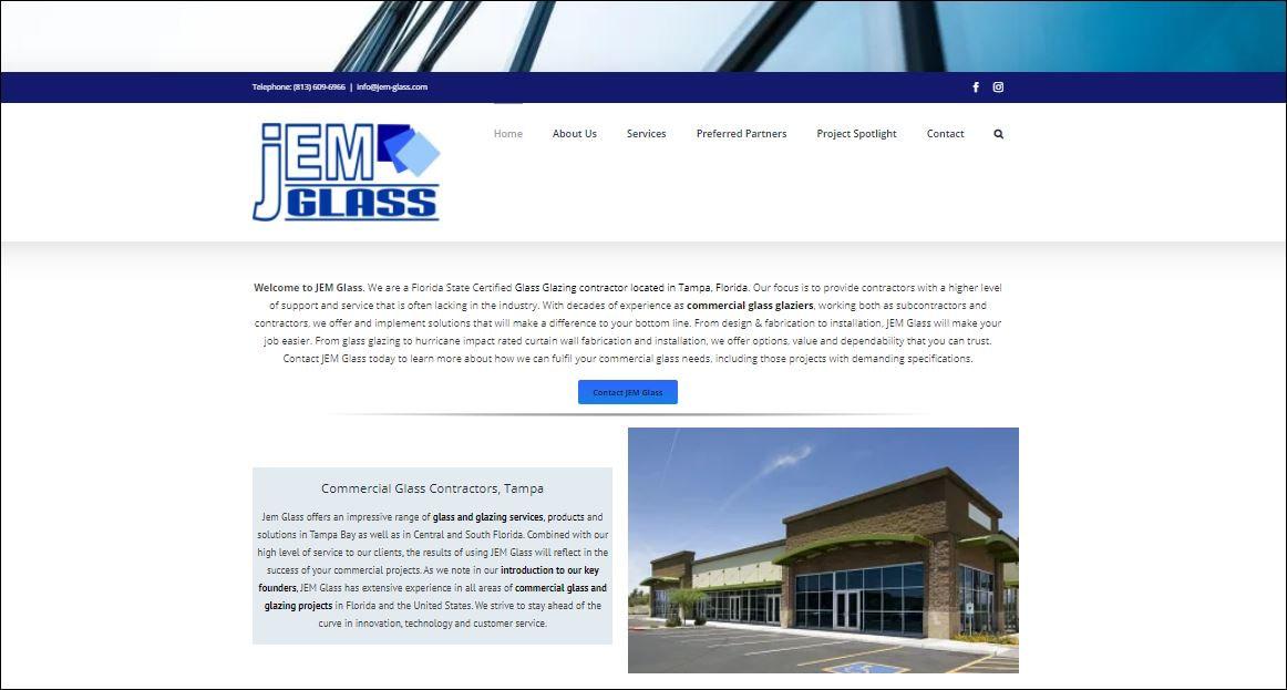 JEM Glass, Tampa