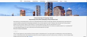 website design for criminal defense attorneys tampa st petersburg