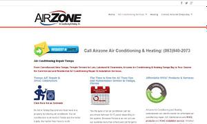 website design services for AC companies Florida