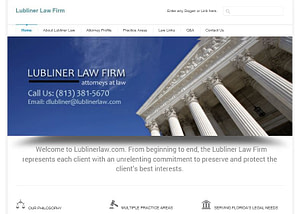 Website Design and SEO for Florida lawyers