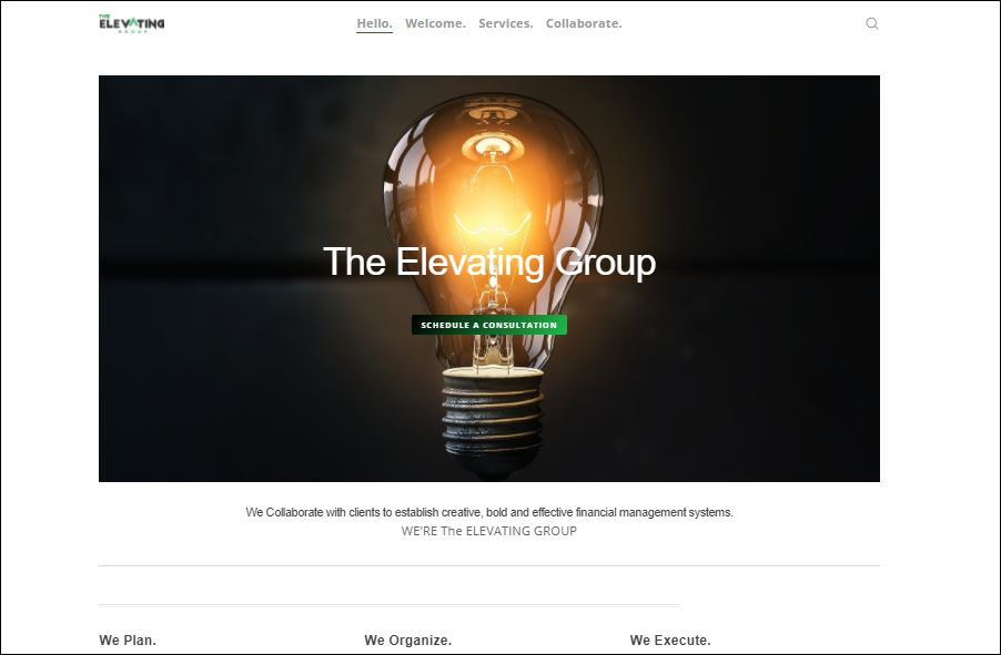 Tampa website redesign/Updates